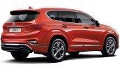 Hyundai Santa Fe Inspiration rear three quarters