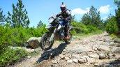 KTM 790 Adventure R front profile