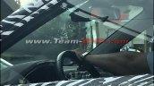 MG RX5 (Roewe RX5) interior spy shot