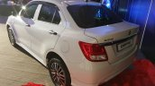 Maruti Dzire with body kit rear three quarters