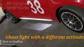 Modified 2018 Maruti Swift under body light