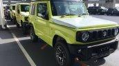 New 2019 Suzuki Jimny Kinetic Yellow