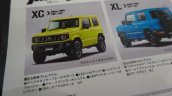 New 2019 Suzuki Jimny XC features