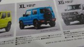 New 2019 Suzuki Jimny XL features