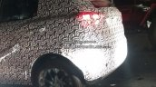 SsangYong Tivoli based Mahindra S201 spy shot side rear