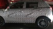 SsangYong Tivoli based Mahindra S201 spy shot side