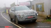 Tata H5X front three quarters spy shot Ooty