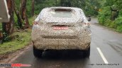 Tata H5X rear spy shot Ooty