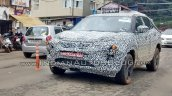 Tata H5X spy shot front three quarters