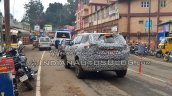 Tata H5X spy shot rear angle