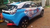 Tata Nexon FIFA World Cup 2018 edition Argentina rear three quarters