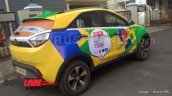 Tata Nexon FIFA World Cup 2018 edition Brazil side angle