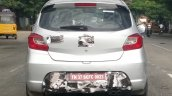Tata Tiago JTP rear spy shot IAB