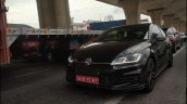 VW Golf GTD front three quarters spy shot India