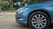 VW Passat review alloy