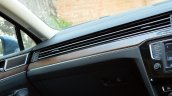 VW Passat review dashboard detail