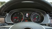 VW Passat review instrument console