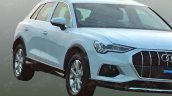2018 Audi Q3 front three quarters right side unofficial image