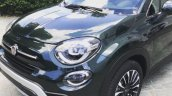 2018 Fiat 500X Cross Look (facelift) front three quarters