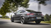 2018 Mercedes C 63 S AMG Coupe rear three quarters dynamic