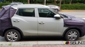 2018 SsangYong Tivoli (facelift) profile spy shot