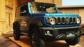 2018 Suzuki Jimny blue front three quarters live image