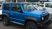 2018 Suzuki Jimny blue front three quarters right side live image