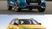 2019 Audi Q3 vs Older model front