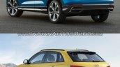 2019 Audi Q3 vs Older model rear quarter