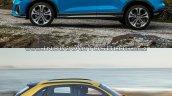2019 Audi Q3 vs Older model side