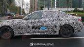 2019 BMW 3 Series (BMW G20) profile spy shot