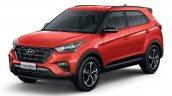 2019 Hyundai Creta Sport front three quarter launched Brazil