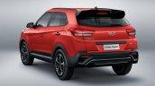 2019 Hyundai Creta Sport rear three quarter launched in Brazil