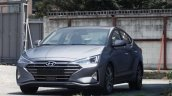2019 Hyundai Elantra (2018 Hyundai Avante) front three quarters spy photo
