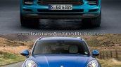 2019 Porsche Macan vs 2014 Porsche Macan front Old vs New
