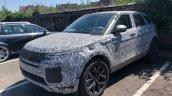 2019 Range Rover Evoque spy shot