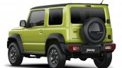 2019 Suzuki Jimny rear three quarters