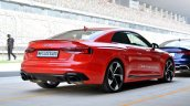 Audi RS5 review rear three quarters