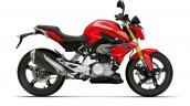 BMW G 310 R 2019 Racing Red right side profile press image
