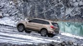 Facelifted Ford Everest (Facelifted Ford Endeavour) uphill