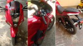 Hero Karizma ZMR 2018 red colour collage