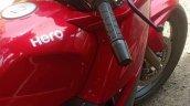 Hero Karizma ZMR 2018 red colour speedometer
