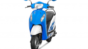 Honda Activa-i 2018 Candy Jazzy Blue launched front