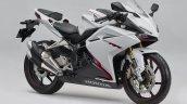 Honda CBR250RR 2018 White front quarter