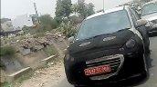 Hyundai AH2 (new Hyundai Santro) Cascading grille spy shot
