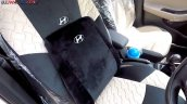 Hyundai i20 accessories backrest