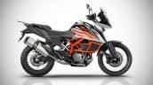 KTM 390 Adventure IAB rendering image Side Profile