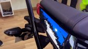 Kawasaki Ninja 300 2018 blue left quarter rear grab rails