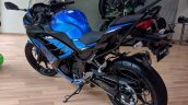 Kawasaki Ninja 300 2018 blue left quarter rear left quarter