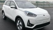Kia KX3 EV front three quarters